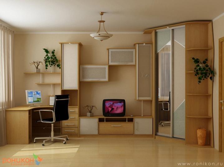 Стенки для подростковой комнаты фото